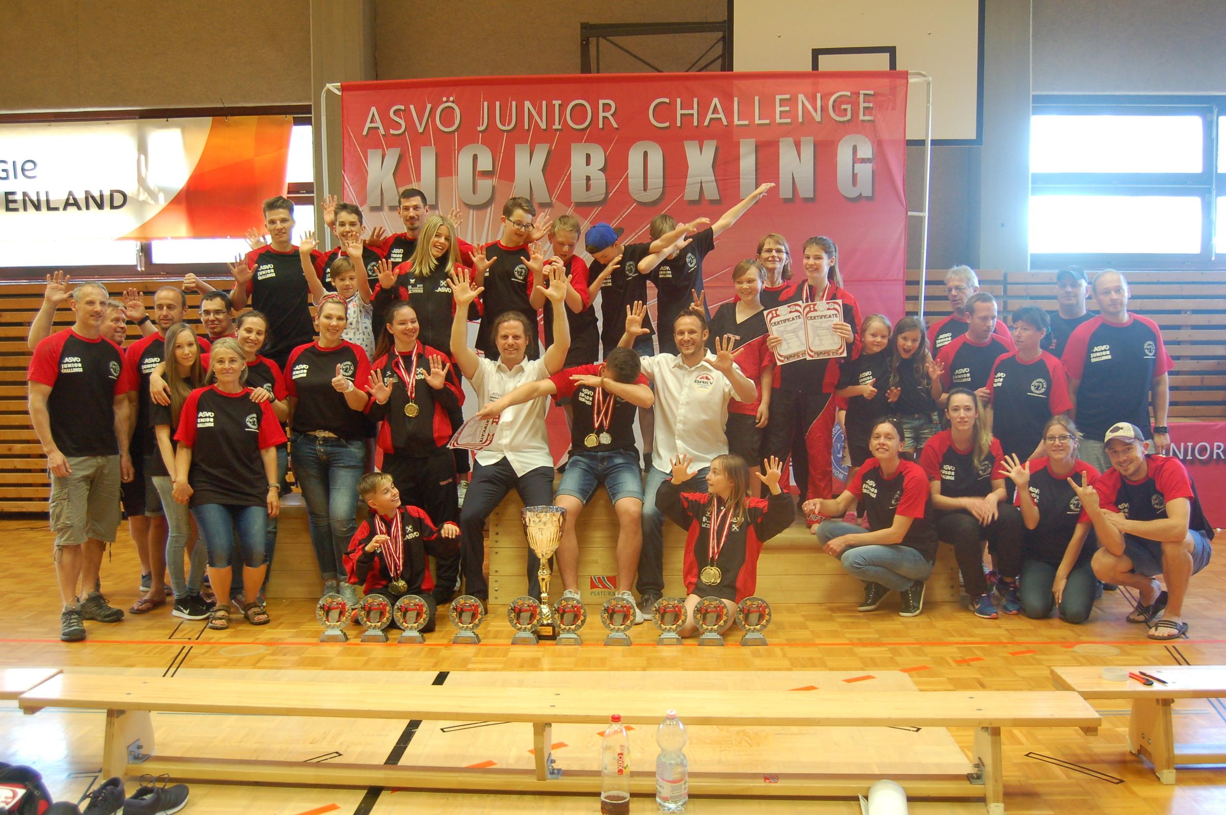 Team ASVÖ Kickbox Club Rohrbach ASVÖ JCh17