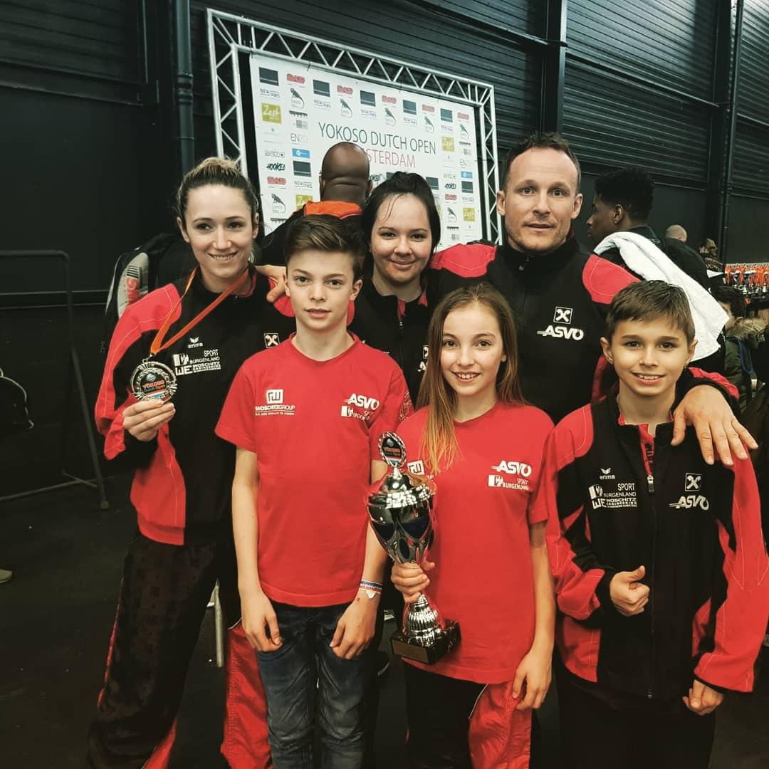 Team ASVÖ Kickbox Club Rohrbach ASVÖ Dutch Open18